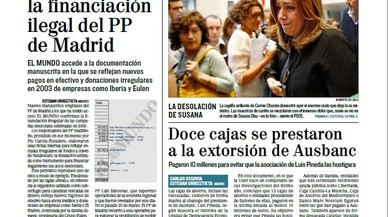 Entre la caixa b del PP d'Aguirre i la tensió per qui compra les urnes a Catalunya