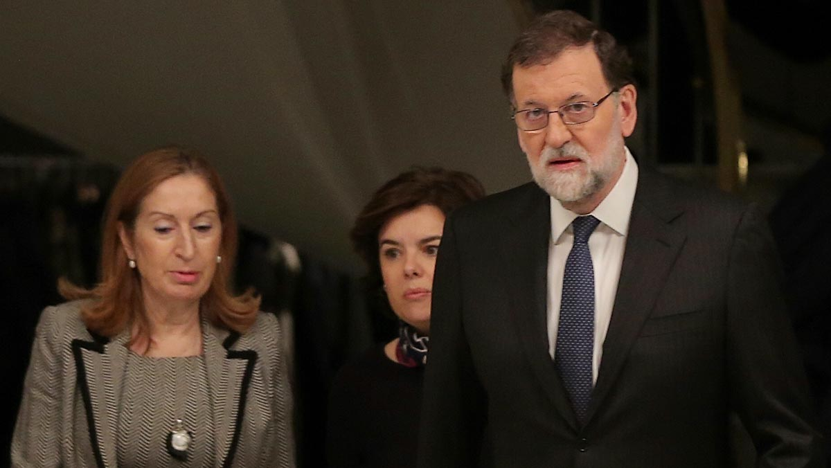 """Rajoy espera esfuerzo de """"todos"""" tras 21D para recobrar confianza en Catalunya"""