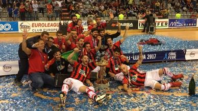El Reus guanya la seva vuitena Copa d'Europa