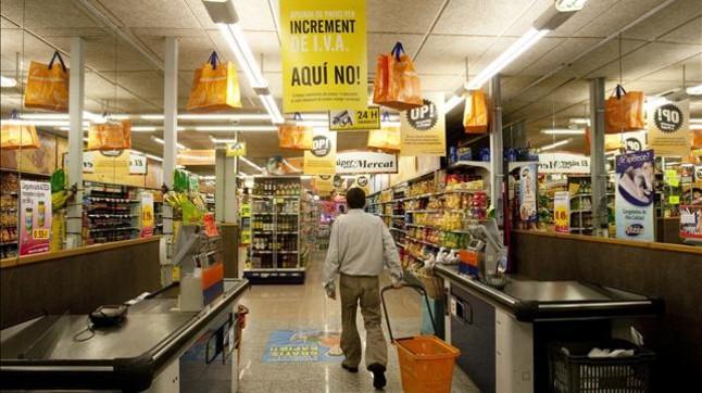 M�s de la mitad de los alimentos se han encarecido por la subida del IVA