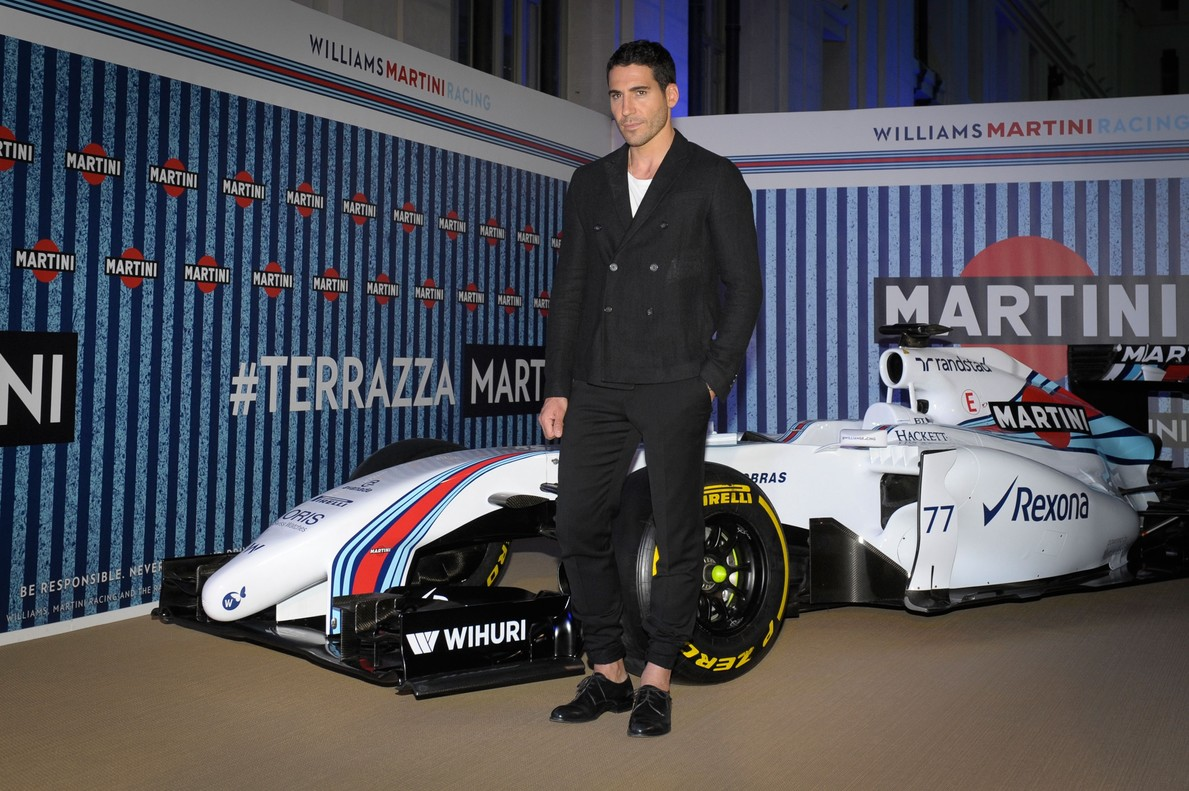 Miguel Ángel Silvestre regna a la Terrazza Martini de Madrid