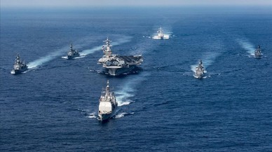 Trump adverteix Corea del Nord amb l'enviament de vaixells de guerra a la regió