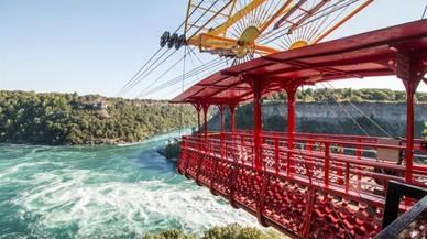 Canadà celebra el centenari del telefèric espanyol que creua les cascades del Niàgara