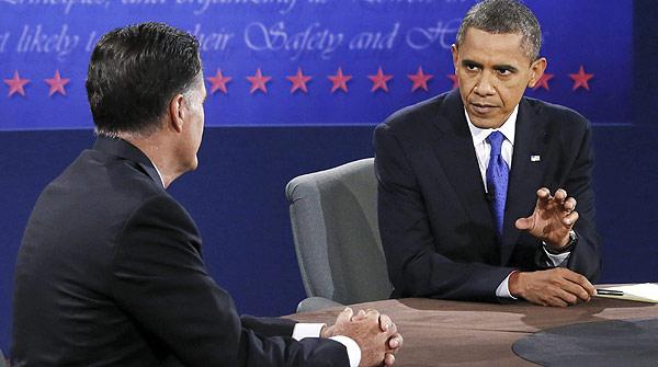 """Obama a Romney en el tercer debate: """"Ya no hay caballos y bayonetas"""""""