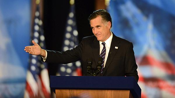 Romney reconoce la victoria de Obama