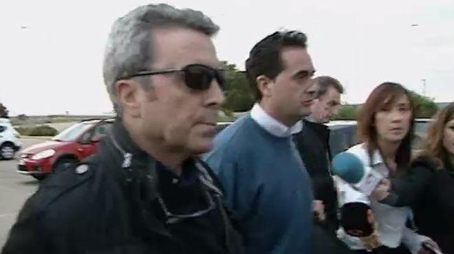 José Ortega Cano entrando a la cárcel de Zuera en Zaragoza