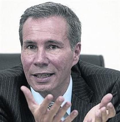 El fiscal Alberto Nisman el 2013 en su oficina en Buenos Aires, Argentina.