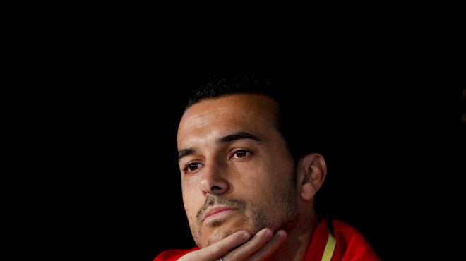 """Pedro: """"Això de De Gea no ens desestabilitzarà"""""""