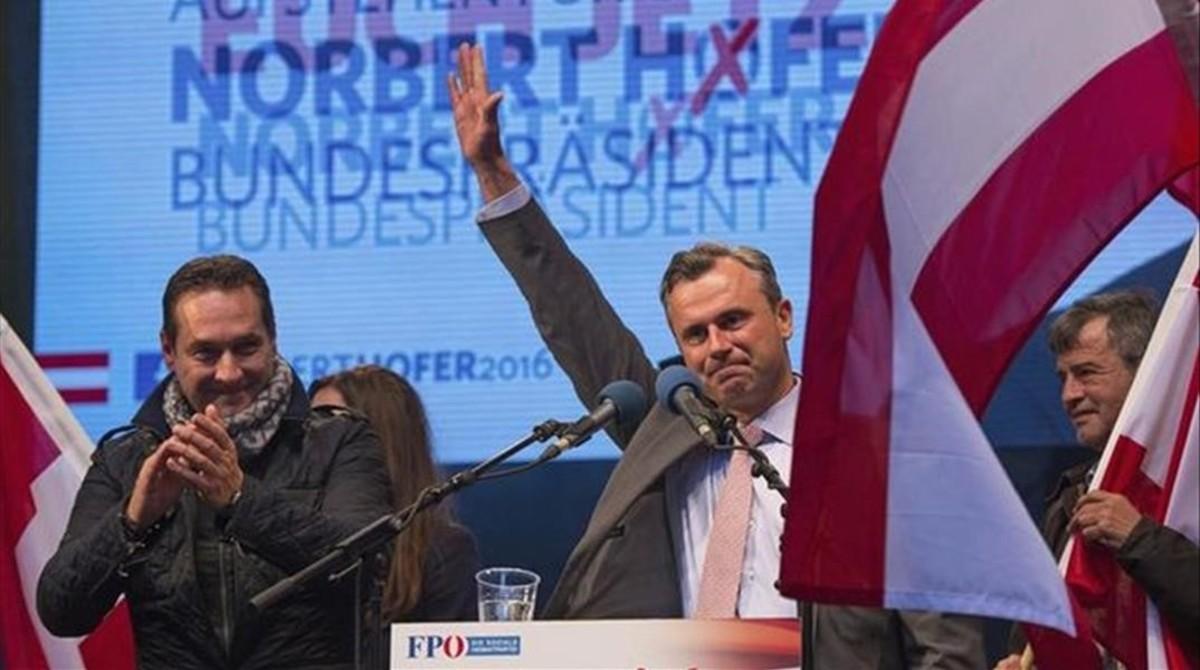 El líder de la extrema derecha austriaca, Norbert Hofer.