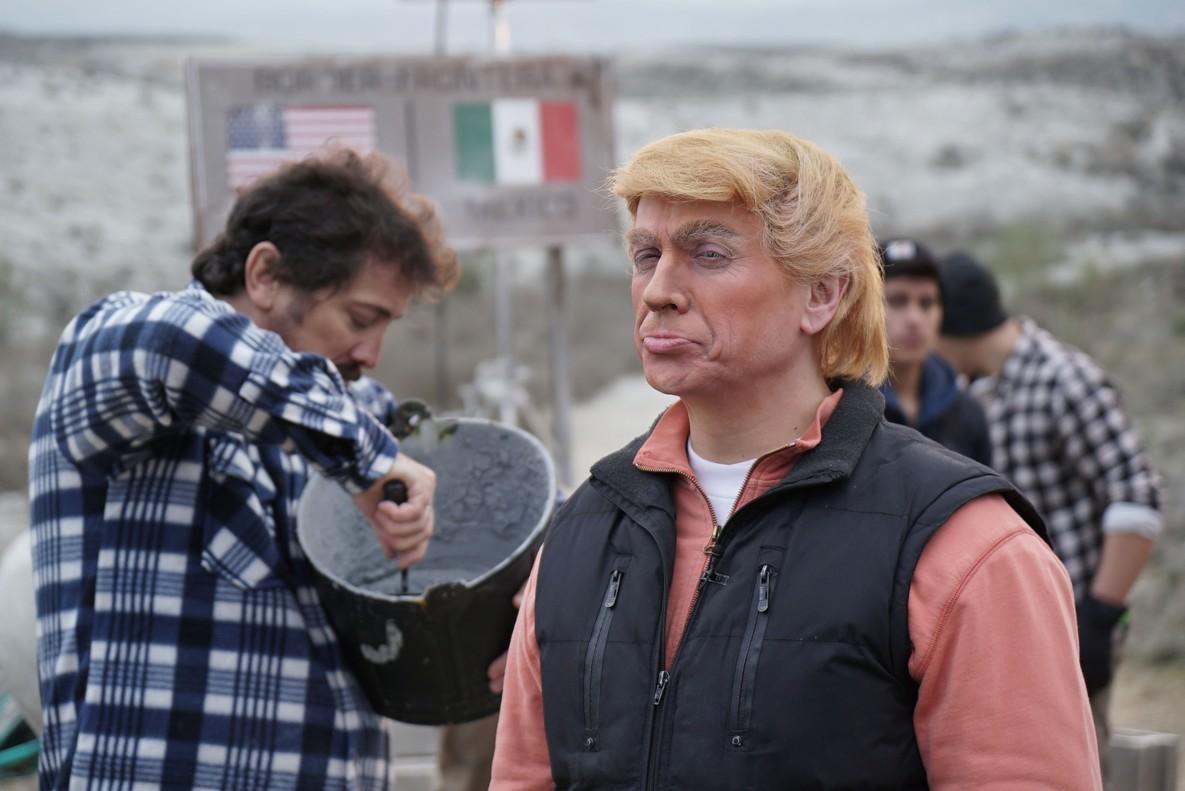 José Mota, como Donald Trump, en el especial de Fin de Año de TVE-1 Operación: and the andaran
