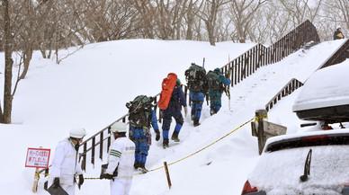 Almenys vuit adolescents morts per una allau de neu al Japó