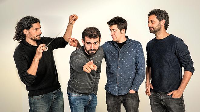 Música Directa: Acústico de Els Amics de les Arts interpretando 'Salvadó'