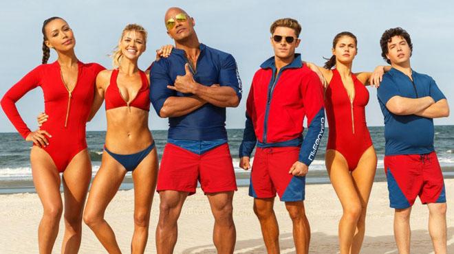 Estrenos de la semana. Tráiler de Baywatch: Los vigilantes de la playa (2017).