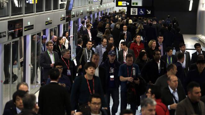 Els treballadors del metro posen ara l'ull en el Barça-Madrid i Alimentaria