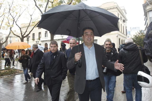 Bustos acusa al exconcejal del PP Jordi Soriano de intentar incriminarle en la trama de corrupci�n