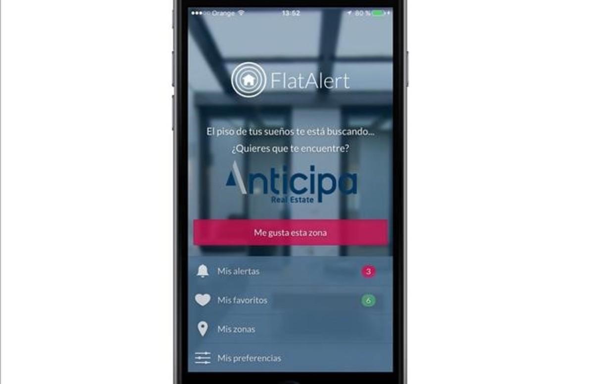Anticipa lanza una aplicación de búsqueda de pisos