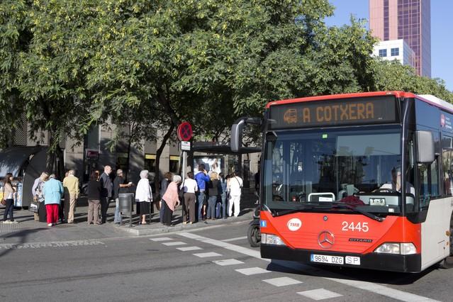El metro, el bus y el tren funcionar�n al 33% durante siete horas el 14-N en Catalunya
