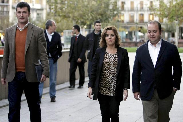 Detenido un diputado del PP en relación a un chantaje al presidente de Caja Navarra