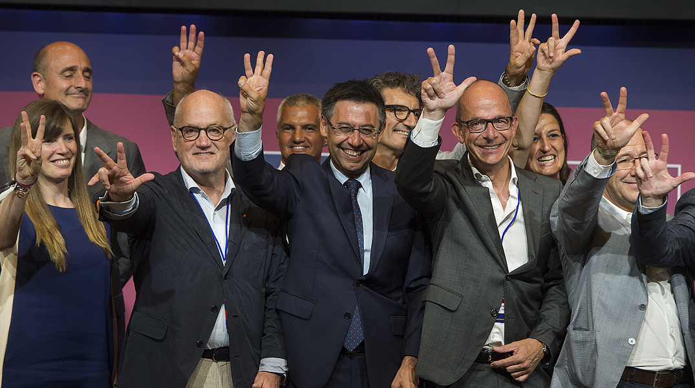 Els socis voten pel triplet de Bartomeu