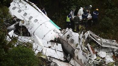 L'avió del Chapecoense tenia poc combustible i excés de pes