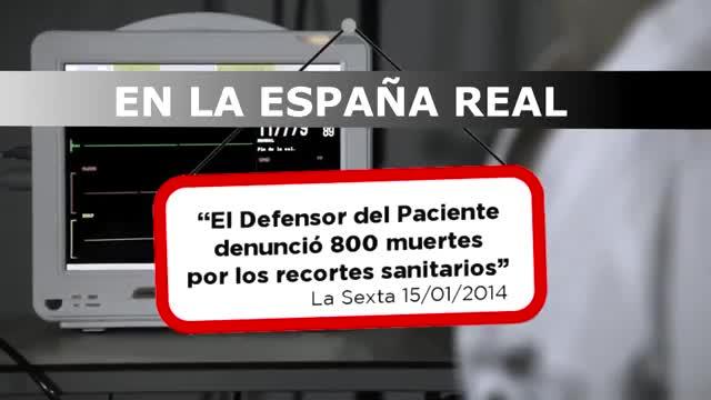 El espot del PP según la versión de Podemos.