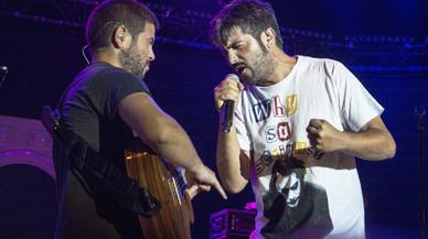 Estopa, los hermanos Mu�oz, en el festival de Porta Ferrada del 2016.