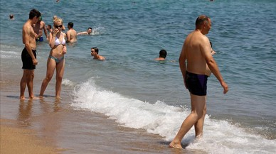 Los buzos de playa