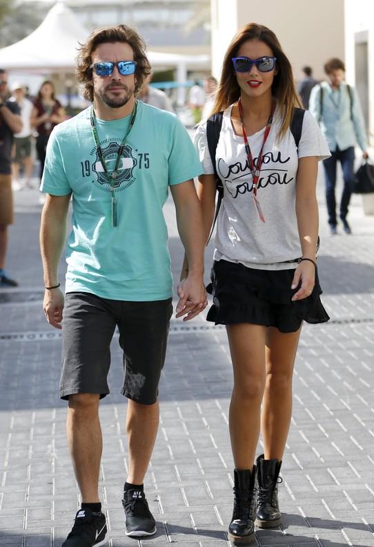 Fernando Alonso y Lara �lvarez rompen