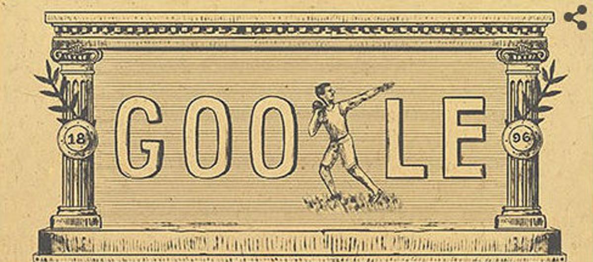 Els primers Jocs Olímpics moderns inspiren el 'doodle' de Google