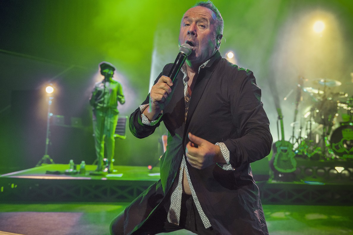 Jim Kerr de Simple Minds, a l'Auditori.