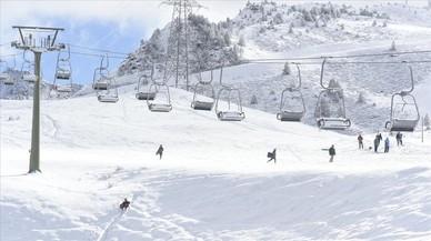 El Pirineu registra la primera gran nevada de la temporada