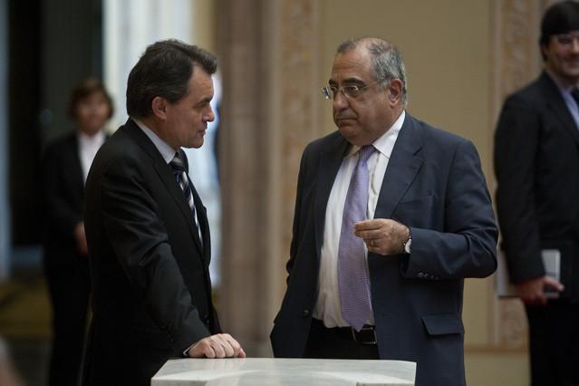 Nadal reprocha a Mas que no haya contado con el PSC para el pacto presupuestario
