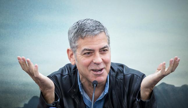 La mansi�n de los Clooney, afectada por el desbordamiento del T�mesis