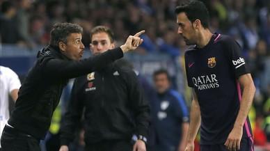 """Luis Enrique: """"La Lliga està una mica més difícil"""""""