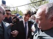 Manuel D�az a su llegada este jueves a los juzgados de C�rdoba al juicio sobre la demanda de paternidad interpuesta contra Manuel Ben�tez,�El Cordob�s.