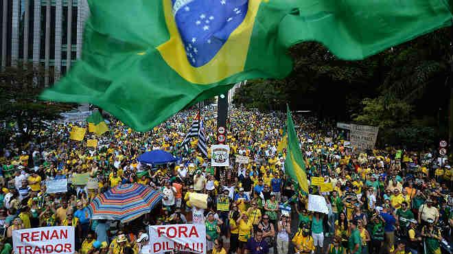 El Brasil clama al carrer contra la corrupció de Rousseff