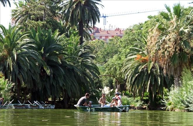 El parque de la Ciutadella.