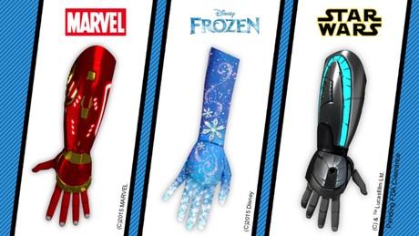 Pr�tesis rob�ticas en 3D de Open Bionics basadas en Disney.