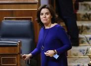 """Santamaría afirma que el Govern impedirà el referèndum amb """"diàleg"""" i """"fermesa"""""""
