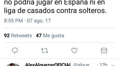 Un concejal de Ciudadanos y expresidente del Hospitalet critica al Chapecoense aunque luego pide disculpas
