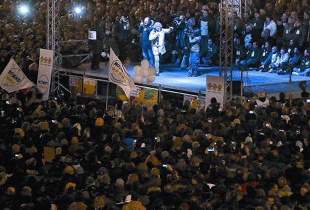Italia vislumbra la ingobernabilidad en el cierre de campaña
