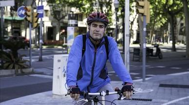 """José A. González, ciclista: """"Fas exercici i el teu cos ho va notant"""""""