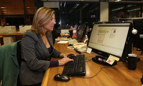 La secretària d'organització del PSC a Barcelona, Lourdes Muñoz