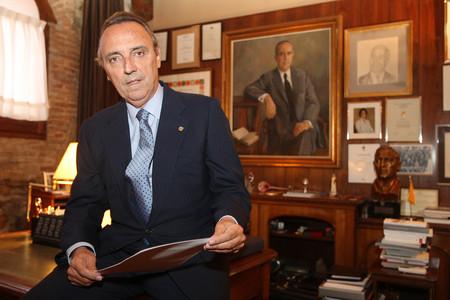 El presidente del grupo Husa, Joan Gaspart, en su despacho, en una imagen de archivo.