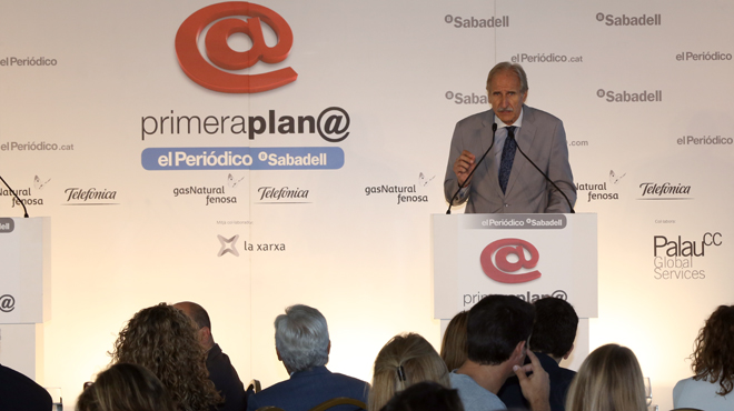 Carmelo Angulo presidente de Unicef España en el Foro primeraplan@