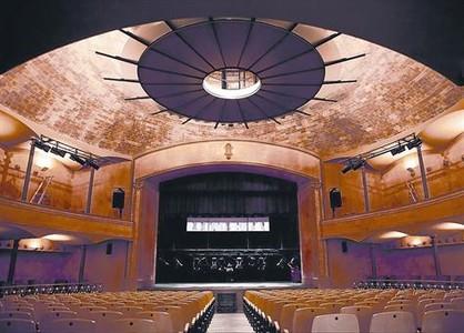 Teatre de la Massa, la �ltima obra que realiz� Rafael Guastavino en Espa�a se encuentra en el municipio de Vilassar de Dalt.