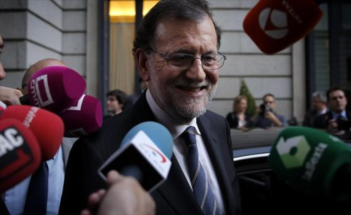 El presidente del Gobierno, Mariano Rajoy, ha vuelto a ser protagonista este martes de numerosos memes en las redes sociales.