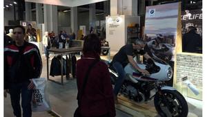 Ambiente en el salón de la moto de BCN 2017.
