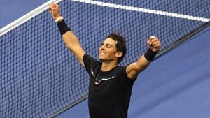 Rafael Nadal, tras derrotar a Del Potro en semfinales del Abierto de EEUU.