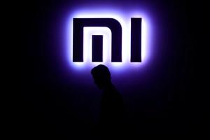El logo de Xiaomi.